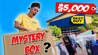 I Bought a $5,000 Mystery Box from Best Buy! (HUGE GIVEAWAY)