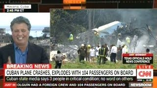Passenger Plane With Over 100 People On Board Crashes In Cuba!