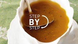 Turkey Gravy Recipe How To Make Turkey Gravy From Drippings Recipe Fo