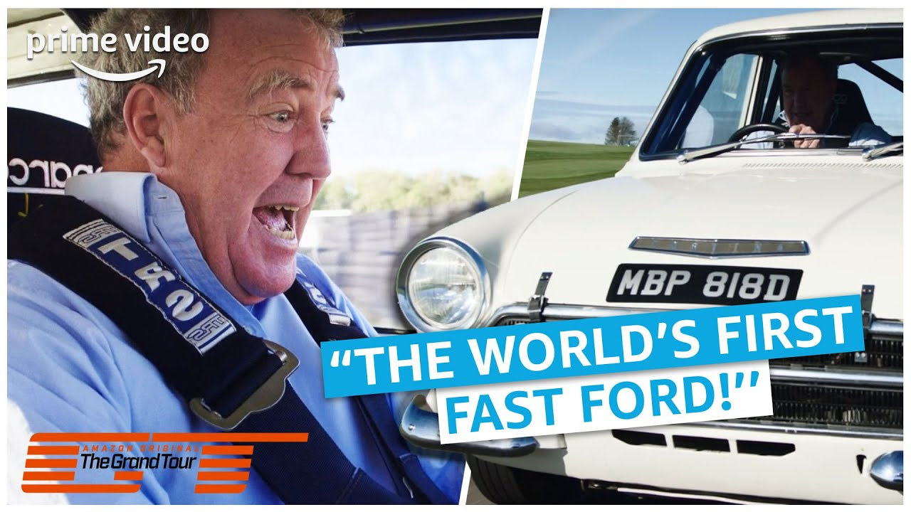 Iedereen's vader had een Ford Cortina | The Grand Tour | Amazon Prime Video NL