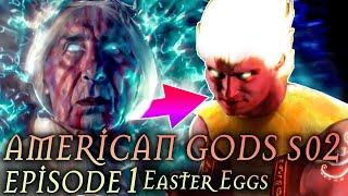 "American Gods Season 2 Ep. 1 Review + Easter Eggs ""House on the Rock"" Breakdown"