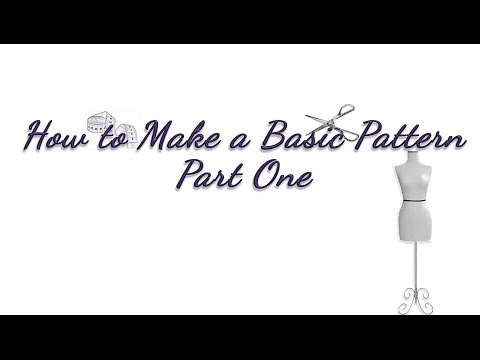 How to Make a Basic Pattern Tutorial, Part One - Sewing, Dressmaking, & Clothing