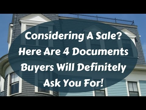 Considering A Home Sale? You'll Need These 4 Crucial Documents 1st