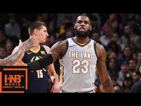 Cleveland Cavaliers vs Denver Nuggets Full Game Highlights / March 7 / 2017-18 NBA Season