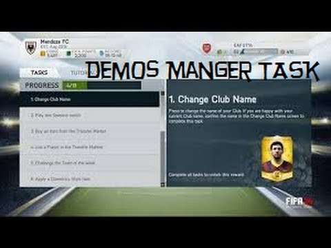 Fifa 14 Club Crest-Free gold pack ! (mangertask)