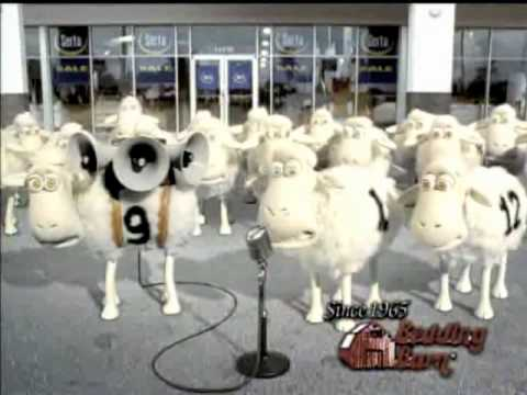Bedding Barn Serta Sheep