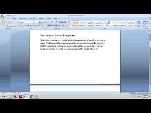 SQL Server tutorial 57: Understanding User Defined Functions