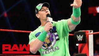 John Cena returns to kick off Raw Reunion: Raw Reunion, July 22, 2019