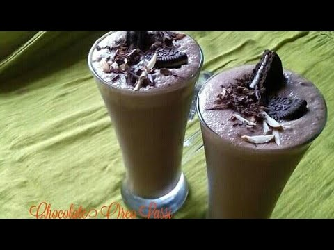 Chocolate Oreo Lassi ( चकोलेट लस्सि )