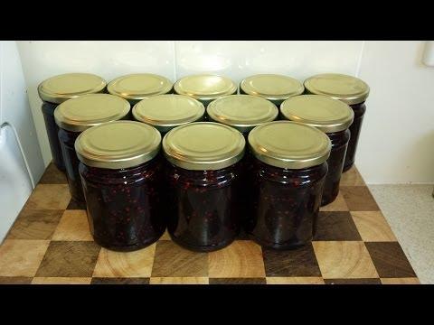Making Blackberry Jam