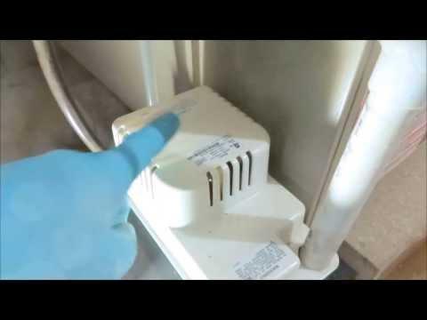HVAC:water on floor around 90+ gas furnace