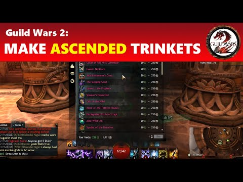 Guild Wars 2: Making Ascended Gear - Trinkets
