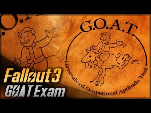 G.O.A.T. Exam // Fallout 3 // Props Travel Kit Tutorial