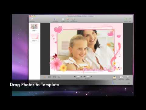 Make greeting card, wallpaper, scrapbook, calendar, comic on mac