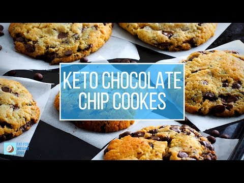 The Best Keto Chocolate Chip Cookies - Chewy and Buttery Smooth!