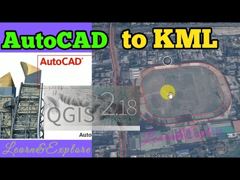 AutoCAD to KML / AutoCAD to Google Earth