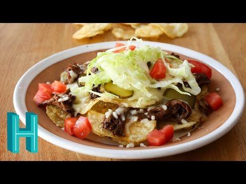 How to Make Potato Chip Nachos | Hilah Cooking