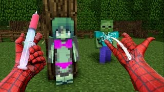 REALISTIC MINECRAFT ~ SPIDERMAN