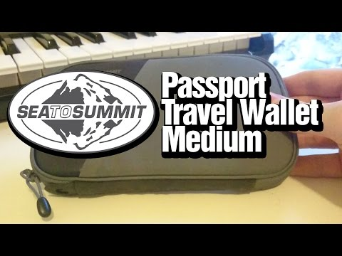 Sea To Summit Passport Travel Wallet Medium
