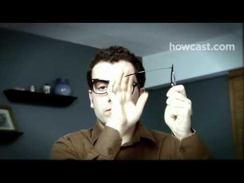 How to Repair Your Eyeglasses