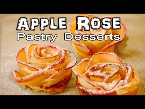 Apple Rose Pastry Dessert