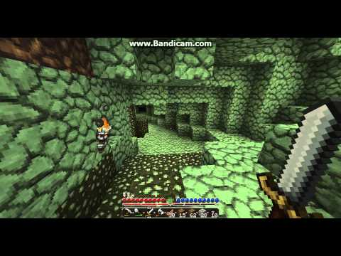 Let's Play Minecraft #8: The green cave of Goodness