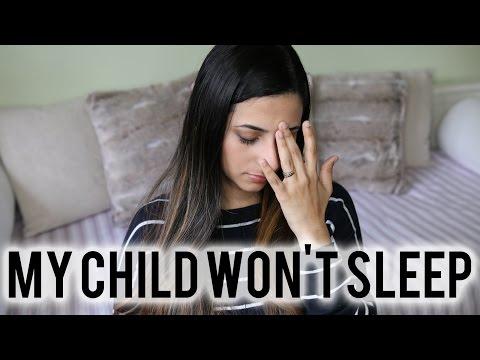 MY CHILD WON'T SLEEP - Let's Talk About It | Ysis Lorenna