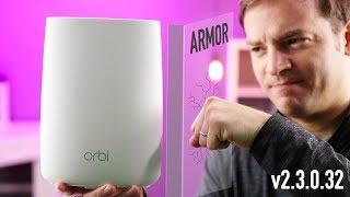 Orbi just got EVEN BETTER! Firmware update 2 3 1 44, NETGEAR Armor