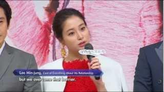 [engsub]Lee MinJung presscon 041013