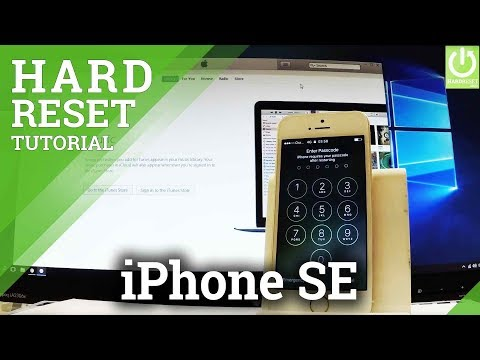 APPLE iPhone SE Hard Reset / Bypass Passcode / Restoring / DFU Mode