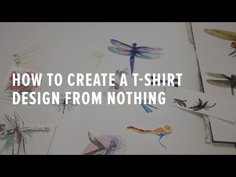 How to Create a T-shirt Design from Nothing