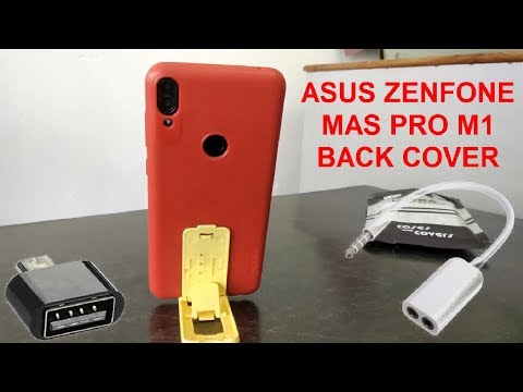 Unboxing & Review of Asus Zenfone Max Pro M1 Back Cover With OTG Adapter, Audio Splitter & Mobile St