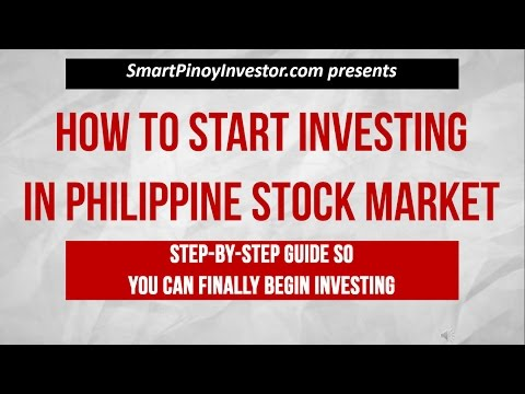 How to Start Investing in Philippine Stock Market for Beginners Step by Step Tutorial