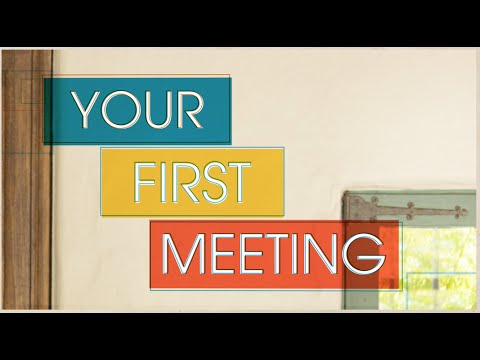 Financing Your Venture: Angel Investment - Your First Meeting with an Angel