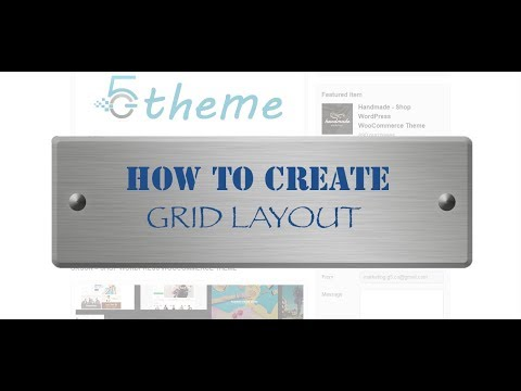 How to create grid layout using Grid Plus plugin