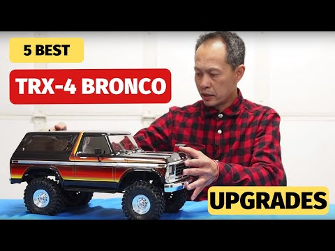 Traxxas TRX-4 Bronco  Upgrades