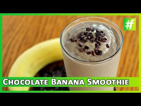 Chocolate Banana Smoothie | Easy and Simple Recipe | #fame Food
