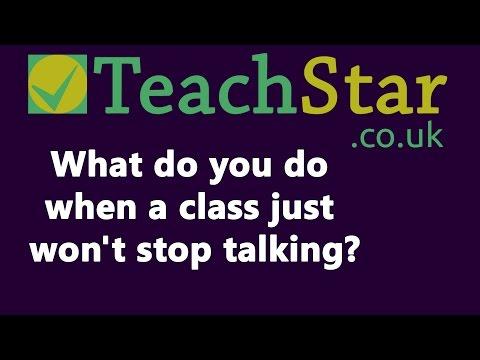 How Do I Get a Class To Stop Talking? - TeachStar Behaviour Management Tips Q&A