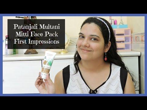 Patanajali Multani Mitti Face Pack First Impressions   beautywithsneha