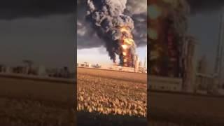 Esplosione alla raffineria di Sannazzaro de Burgundi
