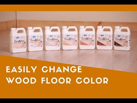 Change Hardwood Floor Color Without Sanding With EasyWhey!