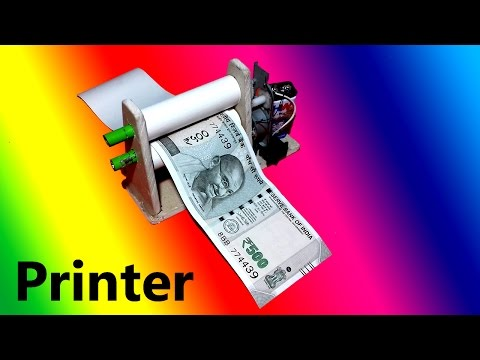 DIY Electric Money Printer