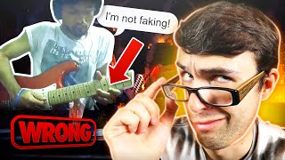 Did This FAKE GUITARIST Fool The Internet?