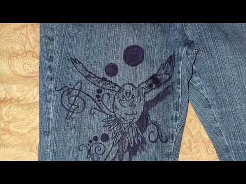 How to remove ink stain from your jean