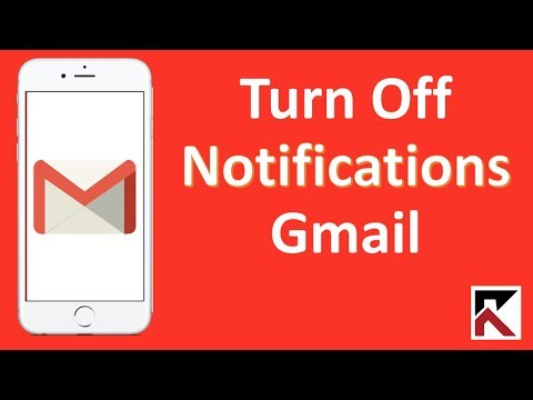 How To Turn Off Gmail Notifications iPhone