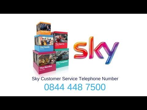Sky contact number ireland 0844 448 7500 Sky Contact