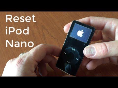 How to Reset iPod Nano 1st Gen