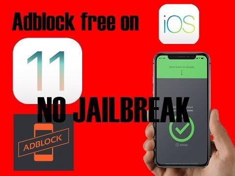 ADBLOCK Free IOS 11 No Jailbreak