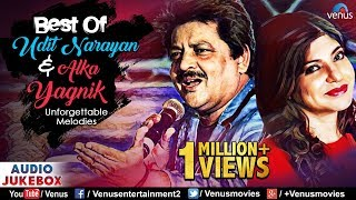 Best Of Udit Narayan & Alka Yagnik | Evergreen Unforgettable Melodies | JUKEBOX |90