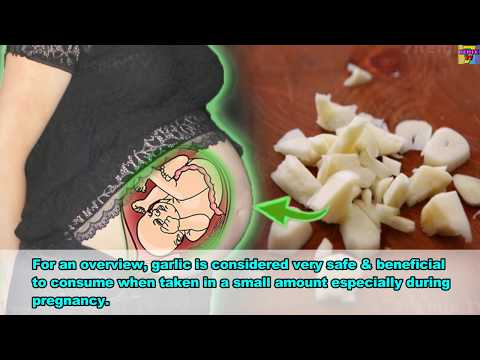 Is Garlic Really Safe During Pregnancy? The Side Effects Of Garlic During Pregnancy, You MUST KNOW!